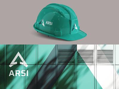 ARSI front range denver colorado a logo energy branding logo