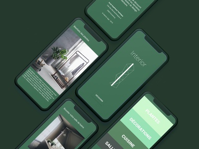 Interior App - Designed in Android Studio