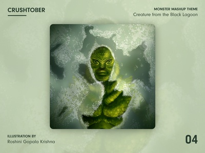 Crushtober - Creature from the Black Lagoon