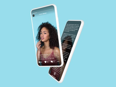 Social post project groups interests community full screen video app chat app hush messenger chat social social network product design ux ui design