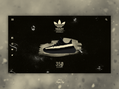 Daily UI #010 | Social Share x Adidas Yeezy