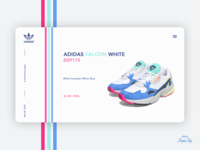 Daily UI #012 | E-Commerce Shop x Adidas