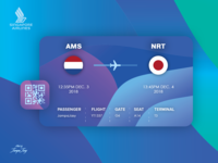 Daily UI #024 | Boarding Pass