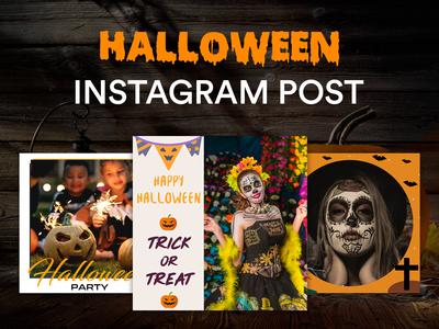 Halloween Instagram Templates