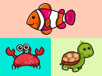 Sea creature Stickers