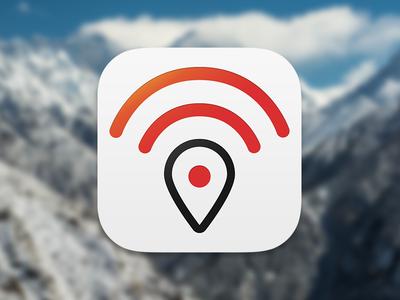 Geo-Location Icon