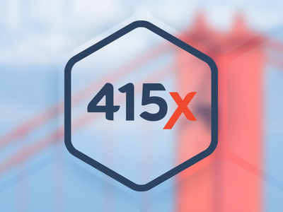 415x Identity branding identity logo san fran hex hq
