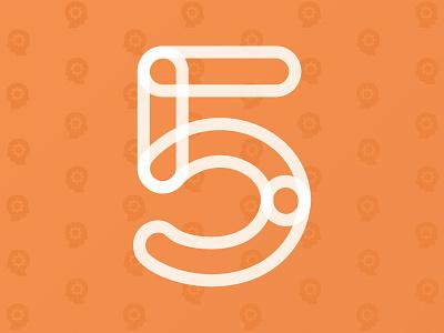 5 Senses opacity 5 senses mind cogs lettering five head head transparency