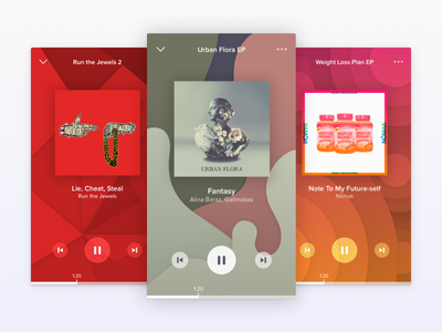 Bringing Back the Visualizer uiux apps electronic hip hop pattern visualizer music player challenge