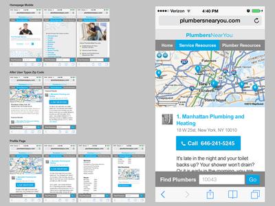 Mobile Responsive Web Version