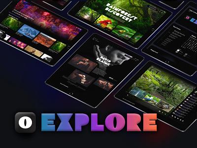 AdobeXD Live: Create digitally immersive experiences on iPad livestream concerts travel events explore interface interaction app ux ipad app ipad pro experiences ipad ios ui user interface