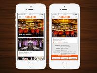 Restaurant Reservations App