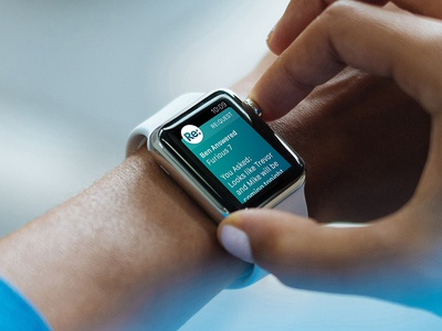 Apple Watch: Quick Messenges - Get Answers interaction ux ui app design ios apple watch