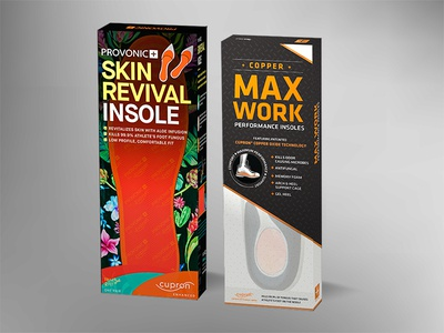 Shoe Insole Packaging