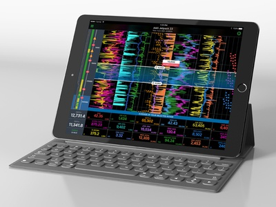 Advanced Data Visualization Live Charts visualization data iphone interface monitoring ipad graph dashboard live