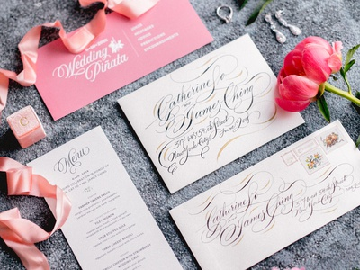 Designing my Wedding Invitations & Style style guide illustration website wedding invitation print design graphic design