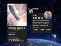 Adobe XD Live: Outer Space Ticketing