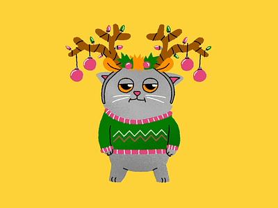 Blu Stickers Holiday ios animation illustration imessage stickers