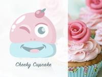 Cheeky Cupcake Logo