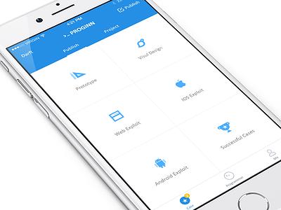 Programmer's App champion android apple web pen rule blue ui app