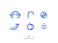 2016Monkey Year Icon