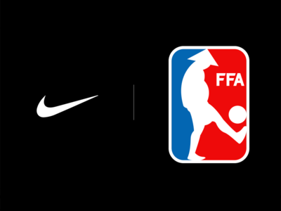 FFA - Friends Footbal Association branding logo sports footbal