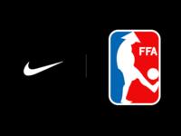 FFA - Friends Footbal Association branding logo sports footbal