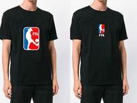 FFA - Friends Footbal Association print branding logo t-shirt