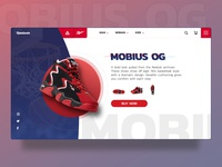Reebok Mobius OG Landing Page