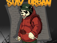 "Panda ""Stay Urban"""