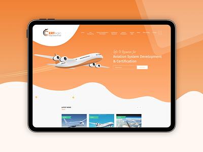 A Mobile Responsive Website For Aviation Business wordpress development wordpress design responsive website responsive design mobile responsive website
