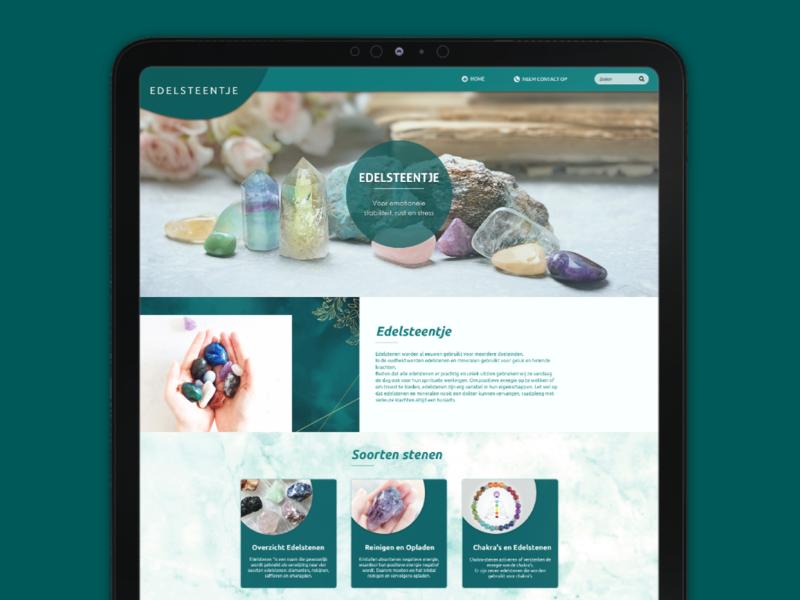 Mobile Responsive Website For GemStone responsive web design website design ui ux mobile app design agency
