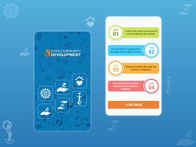 Android App For Essex Community Development mobileappdesign creative mobile app mobile app design agency android ui android app development company android app development android app