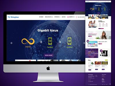 Responsive Website Design For ISP Business wordpress design website designing website design and development website design company mobile responsive responsive website design