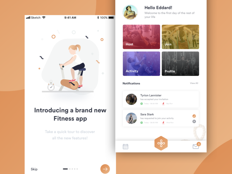 Mobile App for Fitness Activity creative mobile app mobile app design agency fitness application mobile app design branding fitness app gym fitness activity