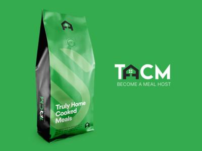THCM Food App Branding logo design branding home cooked food logo food logo design food app logo mobile app design agency uiuxdesign branding typography icon ux vector ui logo design logo design