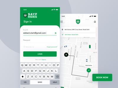 Sayfrides Cab Booking