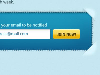Form design ui web button francois one open sans