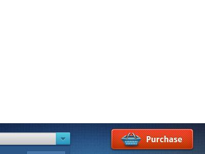 Big fat Purchase button icon button web e-commerce basket droid sans themesrobot