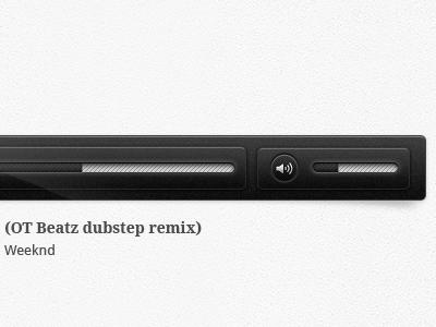 Music Player ui web droid sans droid serif audio player