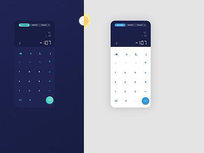 DailyUi 004  - Calculator webdesign uxdesign application minimal user interface calculator ui calculator app calculator dailyuichallenge user experience daily ui dailyui