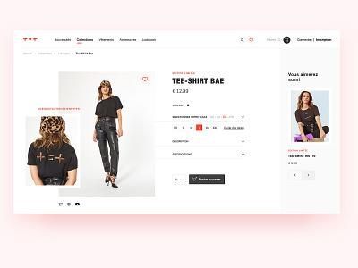 DailyUi012 - E-Commerce shop clothes business ecommerce business dailyuiday12 dailyuichallenge dailyui012 dailyui shopping eshop ecommerce