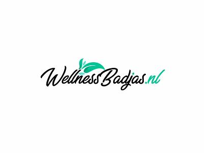 Wellness Badjas Logo web logo spa logo illustrator vector illustration design logo design flat logo icon branding