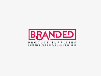 Branded Logo delivery supplier company logo minimal illustrator vector illustration design logo design flat logo icon branding