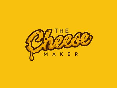 The Cheese Maker Logo food logo cheese company cheese logo company logo illustrator vector illustration design logo design flat logo icon branding