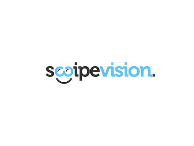 SwipeVision Logo business logo design logo optical logo swipe logo