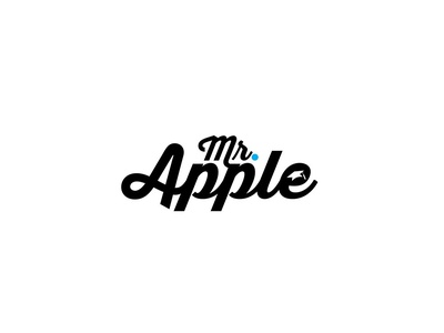 Mr. Apple Logo