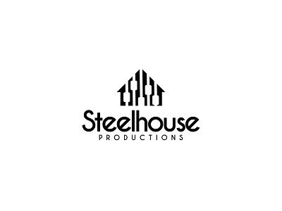 Steel House Productions Logo design logo design logo icon flat branding