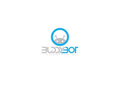 Buddy Bot Logo design logo design logo icon flat branding