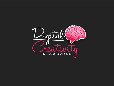 Digital Creativity & Audio Visual Logo design logo design logo flat icon branding